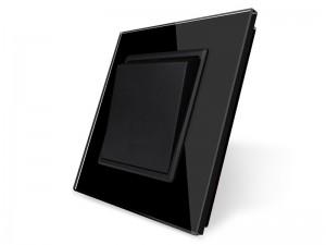 Basic stikalo BLACK - enopolno navadno