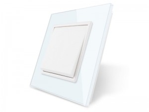 Basic stikalo WHITE - enopolno navadno