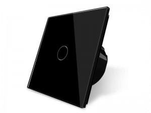 Touch stikalo BLACK - enopolno navadno