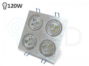Vgradni LED reflektor DOWNLIGHT 4x 3W