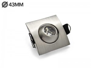 Vgradni LED reflektor MINI 1W - B