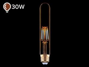 E27 LED žarnica z žarilno nitko 4W DECO - D