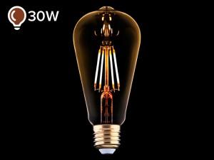 E27 LED žarnica z žarilno nitko 4W DECO - B