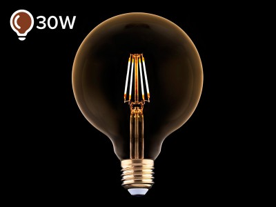 E27 LED žarnica z žarilno nitko 4W DECO - C