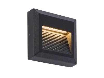 Stenska nadgradna LED svetilka DELTA OGLATA