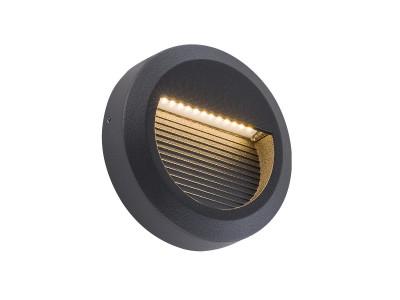 Stenska nadgradna LED svetilka DELTA OKROGLA