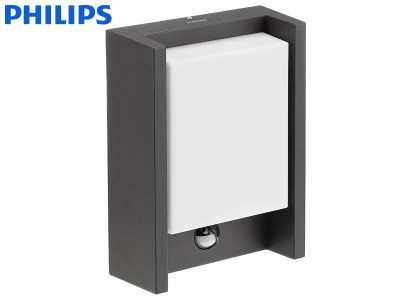 Stenska LED svetilka PHILIPS ARBOUR s senzorjem