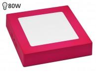 LED svetilka SLIM OGLATA NEON PINK 12W